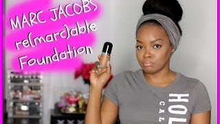getlinkyoutube.com-WTF? MARC JACOBS Re(marc)able Full Cover Foundation LOOKS GREY