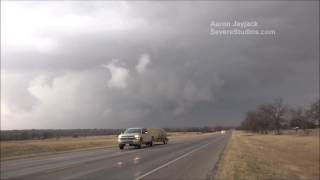 getlinkyoutube.com-Eastland TX Tornado Warned Storm and Lightning 2-19-17