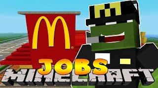 getlinkyoutube.com-Minecraft Jobs - FIRST DAY IN MCDONALDS! (Custom Roleplay)