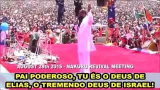 🔴 O FOGO DE DEUS DESCEU SOBRE O ALTAR!!! CHOCANTE VISITAÇÃO 28/08/2016!!! PROFETA DAVID OWUOR