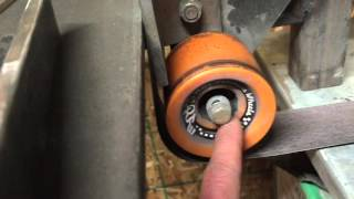 "getlinkyoutube.com-Homemade 2"" X 72"" belt grinder"