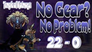 World of Warcraft - WOD Patch 6.2 - Shadow Priest PVP Temple of Kotmogu (22-0! w/No Gear)