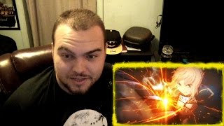 Fate stay/night Saber & Archer VS Berserker REACTION!!!