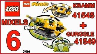 getlinkyoutube.com-LEGO MIXELS SERIES 6 MIX KRAMM  41545 + GURGGLE  41549 - Лего  Миксели  6 серия  МИКС  КРАММ + ГОРГЛ