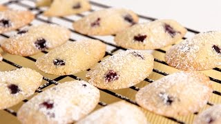 Lemon Blueberry Madeleine Recipe - Laura Vitale - Laura in the Kitchen Episode 797