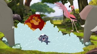 getlinkyoutube.com-Lion Guard: When You're Running with the King Song | The Trail to Udugu HD Clip