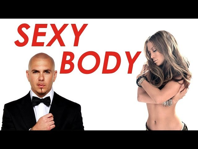 SEXY BODY - PITBULL FT JENNIFER LOPEZ karaoke version ( no vocal ) lyric instrumental