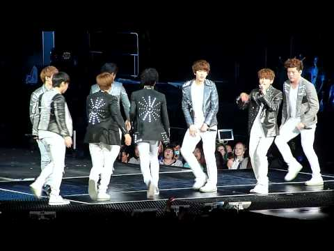 120520 Super Junior - Mr. Simple @ SMTOWN 2012 Honda Center