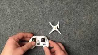 Cheerson CX-10A Quadcopter Unstable Flight: Gyro Calibration Procedure