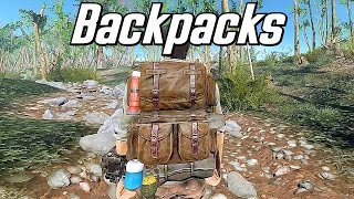 The Best Backpack Mod - Survivalist Go-Bags - Fallout 4 Mod Spotlight