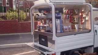 getlinkyoutube.com-Piaggio Ape Coffee van from Coffee Latino