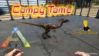 getlinkyoutube.com-ARK Survival Evolved Compy tame