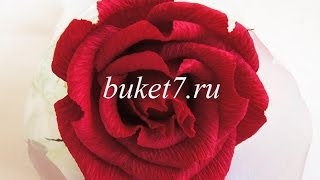 getlinkyoutube.com-Мастер-класс. Букеты из конфет. Роза.