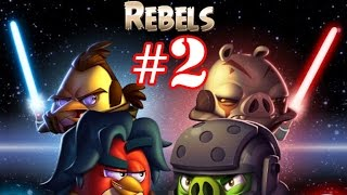getlinkyoutube.com-Angry Birds Star Wars 2 Gameplay Part-2 [Rebels] Pork Side Level 1-12 Plus Boss Fight