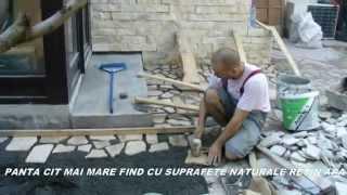 getlinkyoutube.com-Montaj piatra decorativa, piatra naturala,placare cu piatra naturala,0729309784 ediartist
