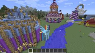 getlinkyoutube.com-Let's Play - Mine Little Pony Minecraft Mod and Equestria Map !!!