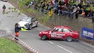 Rally de Wallonie 2013 - Mistake in Malonne