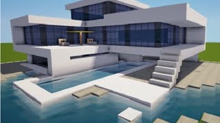 getlinkyoutube.com-Minecraft Modern Lüx Ev Yapımı Harika oLdu HD İzle