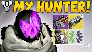 getlinkyoutube.com-Destiny: MY LEVEL 400 HUNTER! Rarest Items, Favorite Exotics, Best Weapons & Armor  (Rise of Iron)