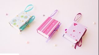 getlinkyoutube.com-Mini notebook portatili Tutorial - ENG SUBS DIY Mini Notebooks