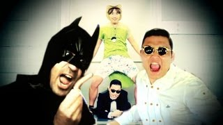 getlinkyoutube.com-ITALIAN VERSION PSY BATMAN GANGNAM STYLE