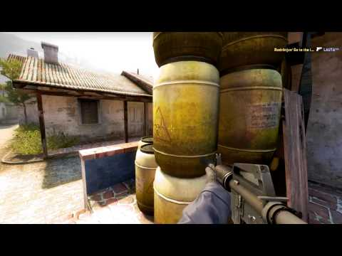 CS:GO Fast Ace with M4A1//p2000 [de_Inferno]