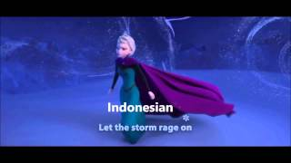 Let it go in 65 Languages
