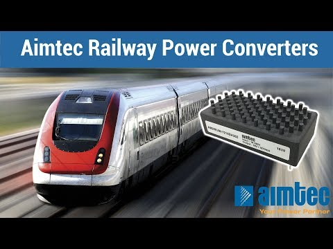 Aimtec Power Converters for Railway 2019