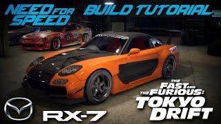getlinkyoutube.com-Need for Speed 2015 | Tokyo Drift Han's Mazda RX7 Build Tutorial | How To Make