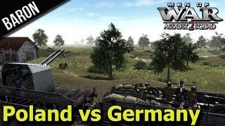 getlinkyoutube.com-Blitzkrieg!  Germany Invades Poland! (Men of War Assault Squad 2 - Mokra 1939 Polish Defense)