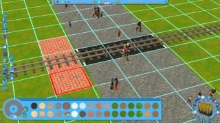 getlinkyoutube.com-RCT3 - How to make a railroad crossing