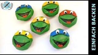 Schnelle und einfache Turtles cup cakes - von einfachBacken Schweiz