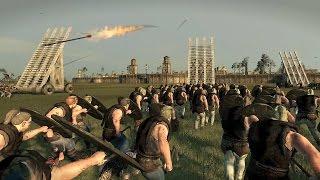 getlinkyoutube.com-3000 Vikings vs 3000 Frank Crossbows Siege of Paris Attila Total War