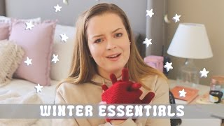 WINTER ESSENTIALS! my fav winter products/things