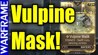 getlinkyoutube.com-Up to the task? How to get Vulpine Mask! - Warframe Update 18.3 (Farming Guide) [1080HD]