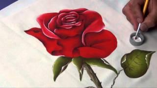 getlinkyoutube.com-Como dominar el arte de la Pintura Decorativa en Tela (4/4)