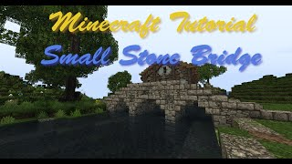 getlinkyoutube.com-Minecraft Tutorial   Small Stone Bridge