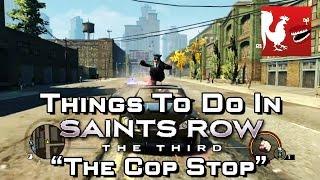 getlinkyoutube.com-Things to Do In Saint's Row 3 – The Cop Stop