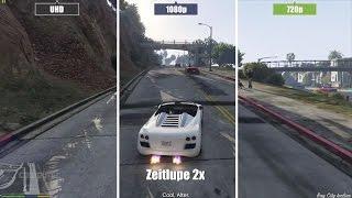 getlinkyoutube.com-GTA 5 PC | High - Medium - Low | Grafikvergleich / Graphics comparison