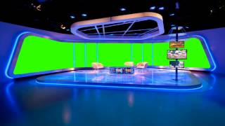 PRO STUDIO in green screen free stock footage
