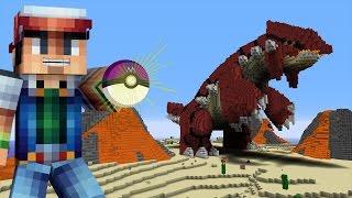 getlinkyoutube.com-Minecraft vs Pokemon Go | GIGA GROUDON APPEARS!