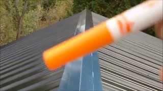 getlinkyoutube.com-DIY Metal Roofing Installation, Basic How-To Video