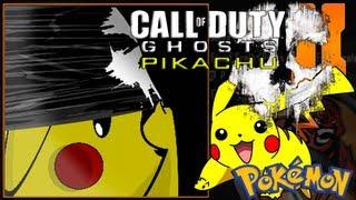 getlinkyoutube.com-Call Of Duty Ghosts Pikachu Emblem Tutorial - Black Ops 2 / Pikachu In Ghosts Mask Video!