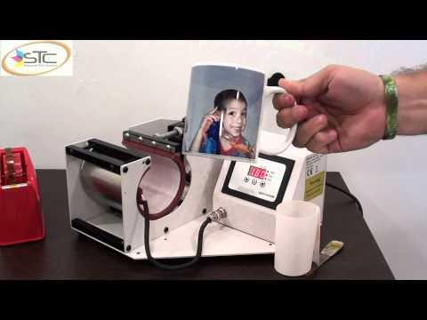 Kit de sublimacion mugs - T50 con sistema de tinta continua + termofijadora mugs STC