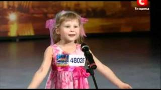getlinkyoutube.com-Девочка удивила всех на шоу талантов (Украина)