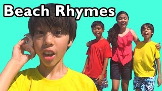 getlinkyoutube.com-A Day at the Beach and More Beach Rhymes | Nursery Rhymes from Mother Goose Club!