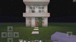 getlinkyoutube.com-Minecraft PE Casa Moderna Pequena