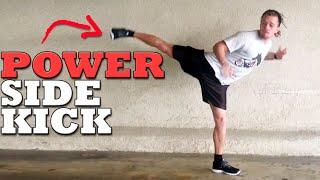 getlinkyoutube.com-The Most Powerful Kick: Hopping Side Tutorial