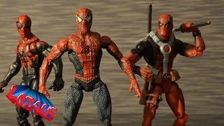 getlinkyoutube.com-LOZAUS1 STOP MOTION Channel TRAILER featuring SPIDERMAN PART 8 Teaser