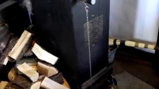 getlinkyoutube.com-Робота котла шахтного типу при -20 С.